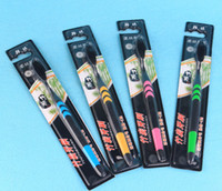 Wholesale Soft fur adult toothbrush
