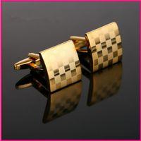 Wholesale 1 pairs classic cufflinks for men shirt cuff gentleman s top quality cufflinks sleeve buttons suits