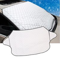 Wholesale Car Windscreen Sunshade Car Snow Covers For SUV And Ordinary Car Sun Shade Reflective Foil Car Windshield Snow Blocked Anti UV