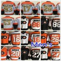 Wholesale Philadelphia Flyers Jakub Voracek Wayne Simmonds Claude Giroux Shayne Gostisbehere Brian Propp Ice Hockey Jerseys