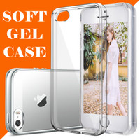 Wholesale iPhone Clear Case for For iphone plus samsung galaxy note Crystal transparent Soft TPU Cases Free DHL Shipping