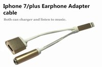 Wholesale New Earphone in lighting Adapter for iPhone plus Data Cable Adapter Cords Cell Phone Accessories DHL free shiping