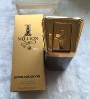 designer perfume - 2pcs new arrival hot perfume million ML fragrance TOP quality copy long lasting designer perfume creed perfume lasting scen
