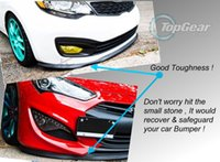 Wholesale For Acura ILX Front Skirt Deflector Spoiler For Car Tuning The Stig Recommend Body Kit Strip Bumper Lip Lips