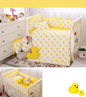 Wholesale Little Yellow Duck Children Bedding set for best Childhood memory