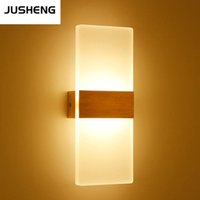 aluminum wall base - AC85 V W Newly Indoor LED Wall Lights W Bathroom Lighting High Quality Aluminum Base Acrylic Square Wall Lamps in Bedroom Living Room