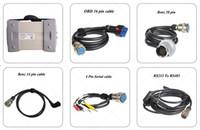 Wholesale DHL Multi Language MB Star C3 Mercedes Diagnostic Tool for Benz Trucks Cars With Cables