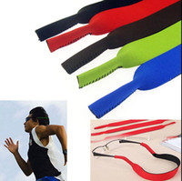 Wholesale mixed color Sports Eyeglasses Band Strap Sunglasses Glasses String Lanyard Holder Neck Cord