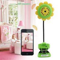 Wholesale WIFI WiFi flower camera Flower Baby Monitor