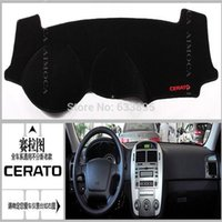 Wholesale Dashboard mat dark visor keeps sun Embroidery section For KIA cerato