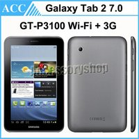 Wholesale Refurbished Original Samsung Galaxy Tab GT P3100 P3100 GB Wifi G Android Phone Call Tablet