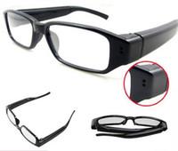 par expédition DHL gratuit pas cher HD Mini Digital Glasses caméra soutien enregistreur vidéo Invisible Lunettes Caméra New 007 Spy Glasses Camcorder DVR