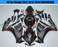 Wholesale Red Stripe Fairing Kit Fit for Honda CBR1000RR Injection ABS Plastic Body Frames Motorcycle Bodywork Motorbike Fairings