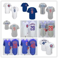 best kyle - New Stitched Chicago Cubs White Blue Grey Willson Contreras Javier Baez Kyle Hendricks Best Baseball Running Jerseys
