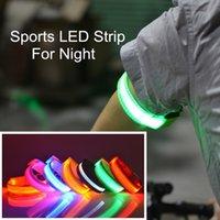 Wholesale LED luminous hand ring LED Armband Safety Reflective Belt Strap Arm Band Flashing Sport Arm Bands Night running Outdoor running
