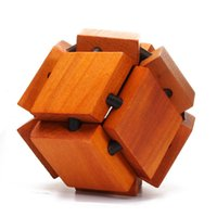 Wholesale Twelve Water Caltrop Ball YX872 Wooden Puzzle Brain Teaser Toy