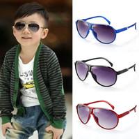 Glass baby uv protection - Fashion children sunglasses UV protection baby sunglasses glasses boy girl burst models factory direct