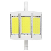 Dimmable / Non Dimmable R7S 10/15/20 / 25W 78/118 / 135 / 189mm Ampoule pur blanc chaud COB SMD LED Floodlight spot Corn Light Lamp 85-265V
