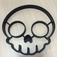 Wholesale Maikun Hot Sale Cook Egg Mould Cute Skull Head Egg Mould Creative Silicone Skull Cook Egg Mould