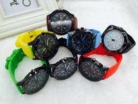 Wholesale 2016 New Arrival Children Sports Wrist Watchea Multi Colors High Quality Luxury Sports Quartz Wristwatch As Gift