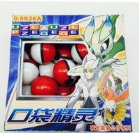 Wholesale Cute Poke Master Ball Toys Pop up Poke Ball Mini Mega Model Classic Cartoon Action Figure Night luminous Toys