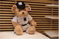 baseball teddy bear - 24 cm Giant Plush Stuffed Teddy Bear With Baseball Suit