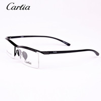 designer eyeglasses - CA8189 carfia eyeglass frames titanium designer eyeglass frames new arrival optical glasses women men frames for glasses freeshipping