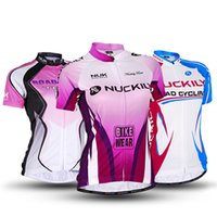 Wholesale 1pcs Women Outdoor Cycling NUCKILY Jersey Bicycle S XXL style for choose