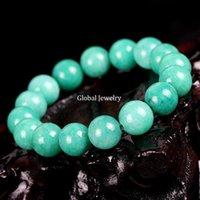 amazon beaded bracelets - imitation imitation color jade bracelet Amazonite Amazon Malay jade jewelry and gem crystal fashion
