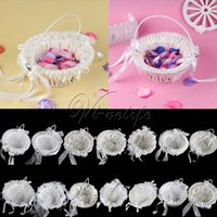 Cheap Wedding Wedding Basket Best Flower Basket white Basket flower basket