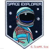 astronauts for kids - Space Explorer Astronaut NASA Ranger Discovery Galaxy Kids Iron On Patch for Clothing and Accessories