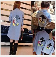 baby boy dress shirt - 2016 New Family Dress Alikes Cartoon Mickey Mouse Shirt Spring Fall Kids Long Sleeve Shirts Boys Clothing Casual Shirt Mom Baby Clothes