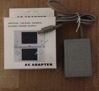 Wholesale US UK plug AC Home Wall Power Supply Charger Adapter Cable for Nintendo DS NDS GBA SP with retail package box