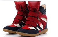 Wholesale hot sale new spring and autumn color high top shoes fashion marant casual women s shoes