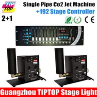 Wholesale Single Pipe CO2 Machine DMX192 Controller DMX CO2 Machine Jet Stage Effect Lights High Quality