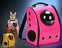 Wholesale U PET Dog Cat Puppy Carrier Traveler Backpack Travel Shoulder Bag Dog Carrier Travel Sling Bag Pet Backpack for Small Dogs Cats