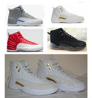 best discount shoes - 2016 BEST Cheap air retro ovo mens basketball shoes wolf grey Gym Red sneakers barons black nylon athletics discount shoes size