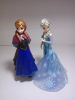 Wholesale FROZEN Princess Elsa and Anna Set Toy Doll ornaments birthday gift for girls beautiful dolls decoration