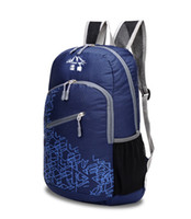 Wholesale Outdoor foldable travel ultralight backpack shoulder bag female fashion sports bag