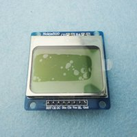 Wholesale X48 Nokia LCD Module with blue backlight for Arduino