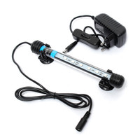 Wholesale Aquarium Fish Tank cm LED SMD Blue White Bar Light Underwater Submersible Waterproof Clip Lamp Decoration Lighting