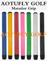 Wholesale New Custom Shop Matador golf grips midsize good quality pu golf putter grip colors