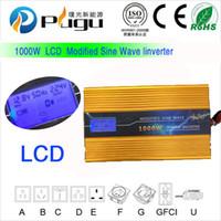 Wholesale 12V1000W modified sine wave inverter with LCD display car power inverter solar off grid inverter