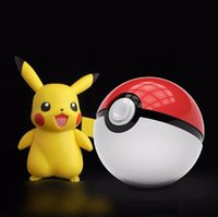 Wholesale power bank for Mobile phone game Poke mon Go Pokeball power bank Mah dual USB LED Quick phone Charge Power Bank