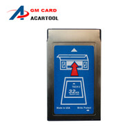 Wholesale 2015 Newest arrival GM Tech2 MB Pcmcia Memory Card with latest software for GM Holden ISUZU OPEL SAAB SUZUKI