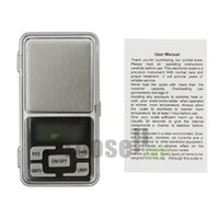 Wholesale g g Mini Portable Digital Electronic Diamond Jewelry Pocket Weight Scale with retail box