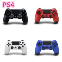 Wholesale Wireless bluetooth game controller for PlayStation Joystick Wired Controller for Game Pad with retail box