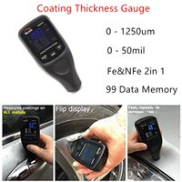 Wholesale LCD Display Digital Coating Thickness Gauge Painting Thickness Measurement Film Thickness Meter Car Paint Tester CM8806FN