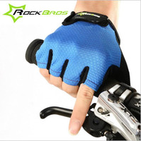 Wholesale Non Slip Breathable Mens Women s Summer Sports Wear Bike Bicycle Cycling Cycle Gel Pad Short Half Finger Gloves Style