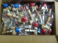 Wholesale Kid Kendama Coordinate Ball Japanese Traditional Wood Game Skill Educational Toy